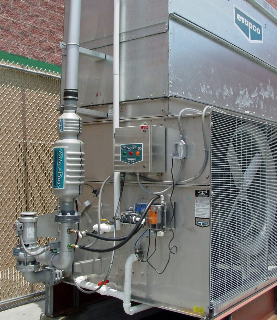 Evapco cooling tower Pulse~Pure water treatment system