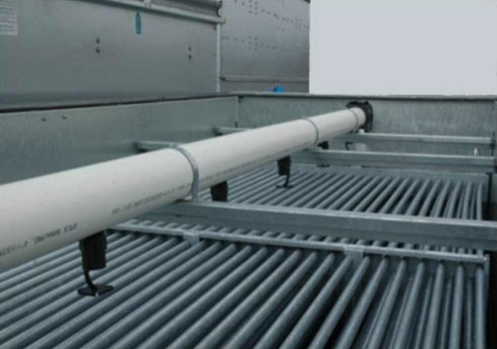 Evapco water distribution system detail